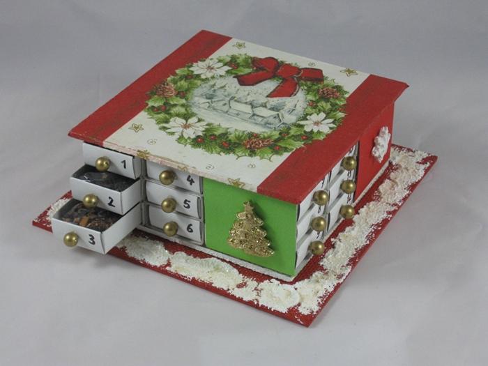 Kleiner Weihnachtskalender.Kleiner Adventskalender Teesträuße Und Teegeschenke